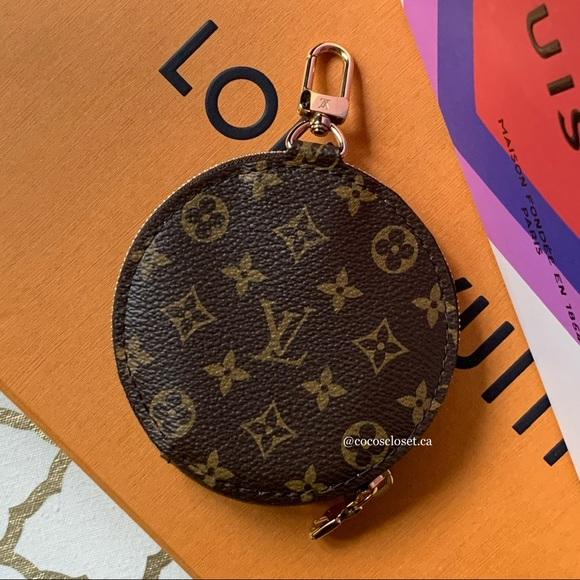 Louis Vuitton Round Coin Purse Bag Charm